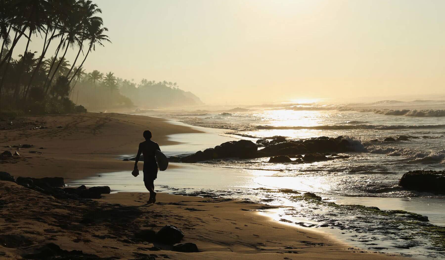 costa rica private beach surf