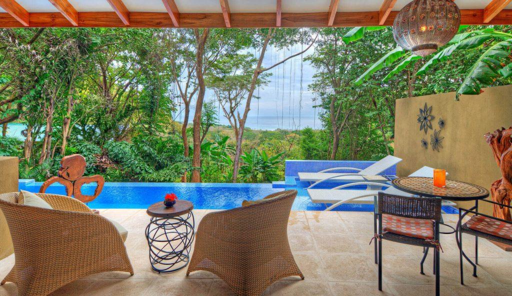 villa costa rica mal pais private pool