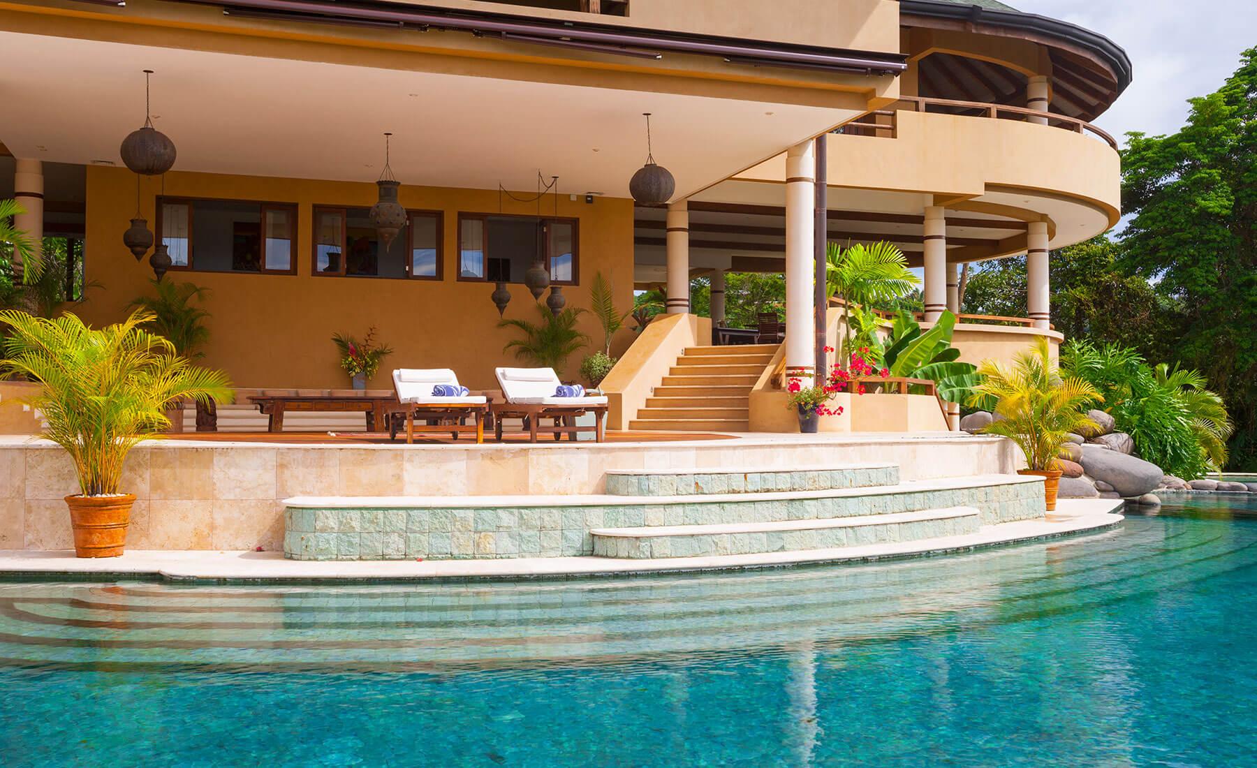 costa rica villa private pool experience