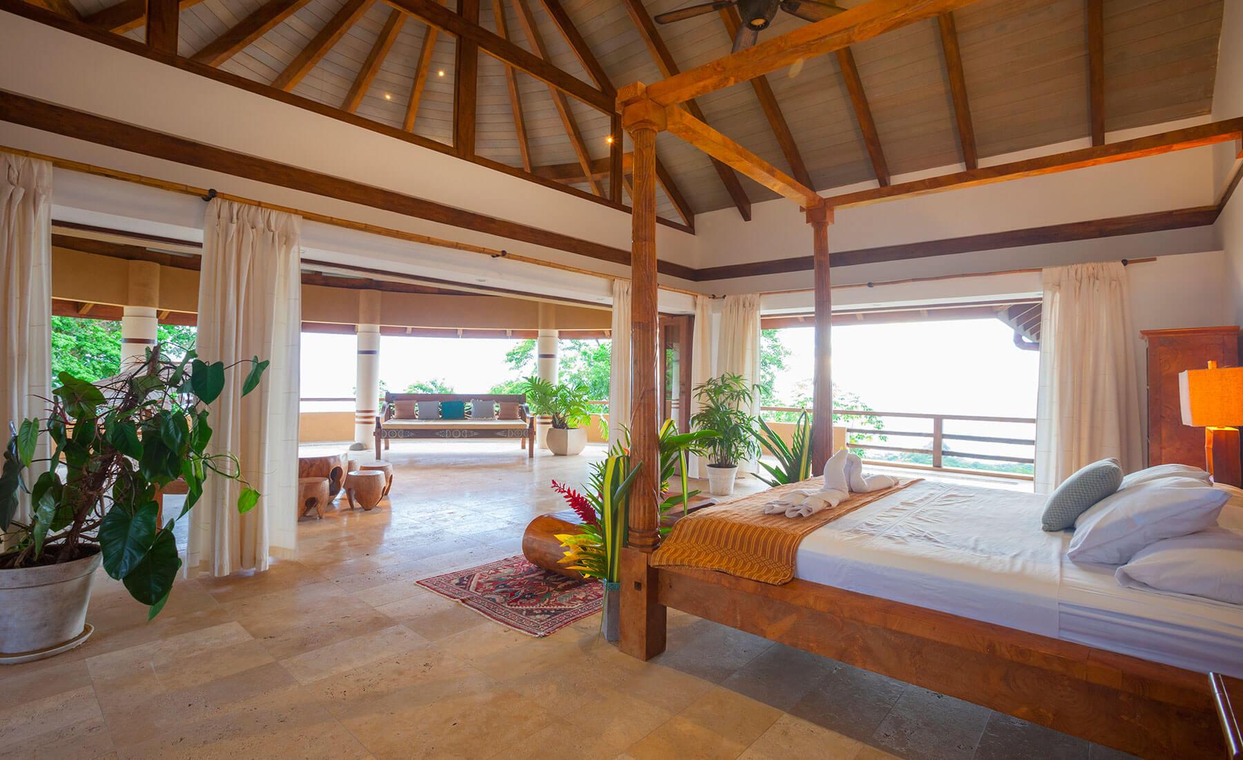 costa rica private villa rooms